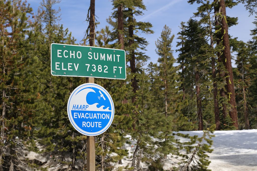 Signs of Our Times - HAARP evac route